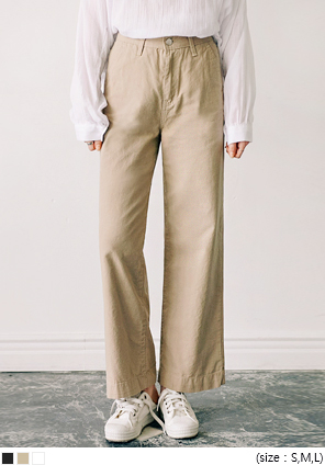[BOTTOM] MONIN HIGH WAIST WIDE PANTS