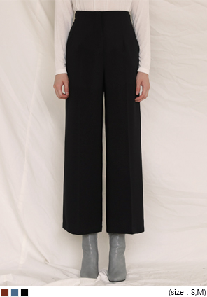 [BOTTOM] TAG LOOSE FIT WIDE SLACKS