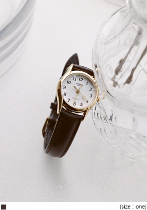 [ACC] CASIO ANTIQUE LEATHER WATCH
