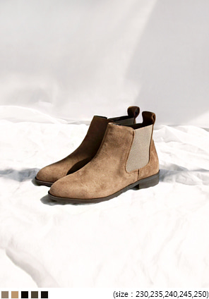 [SHOES] BANDING CHELSEA BOOTS - 2 TYPE