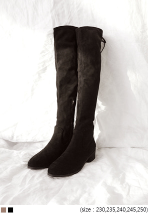 [SHOES] STRAP THIGH HIGH BOOTS