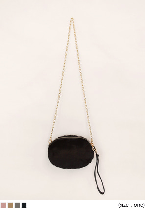 [BAG] BABY FUR MINI BAG