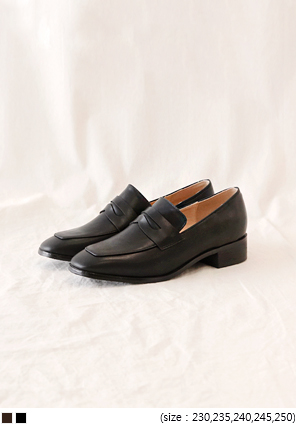[SHOES] NOBLY PENNY LOAFER - 2 TYPE