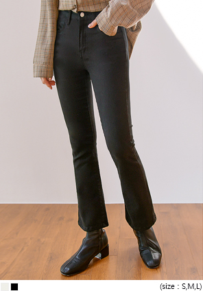 [BOTTOM] HIGH TENSION SEMI BOOTS PANTS