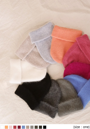 [ACC] 11 COLOR POP ANGORA BEANIE