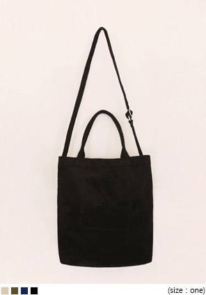 [BAG] TENDER POCKET CORDUROY BAG