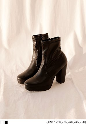 [SHOES] CLASSY HIGH ANKLE BOOTS