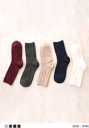 [ACC] TWIST POINT DAILY SOCKS
