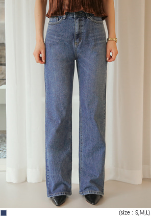 [BOTTOM] ROBIN STRAIGHT DENIM PANTS