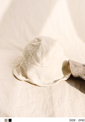 [ACC] BUILT COTTON BONNET HAT