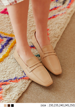 [SHOES] CLUBE SQUARE BABOUCHE LOAFER