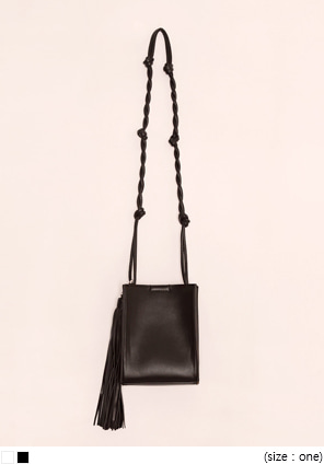 [BAG] MONTANA TASSEL TWIST LEATHER BAG