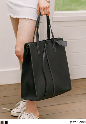 [BAG] STITCH POINT BAG