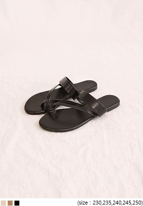 [SHOES] EDDY X STRAP FLIP FLOP SLIPPER