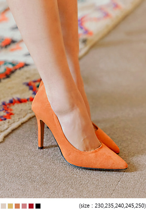 [SHOES] 6 COLOR QUEEN SUEDE STILETTO HEEL