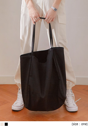 [BAG] NATURAL BULKY COTTON BAG