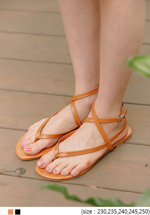 [SHOES] THOMY X STRAP FLIP FLOP SANDAL