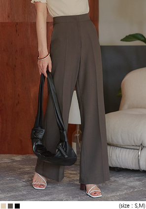 [BOTTOM] TAYLOR WIDE BOOTS CUT SLACKS