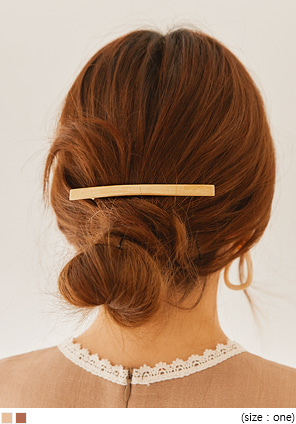 [ACC] VICAN WOOD THIN HAIR PIN