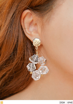 [JEWELRY] JULIA CRYSTAL DROP EARRING