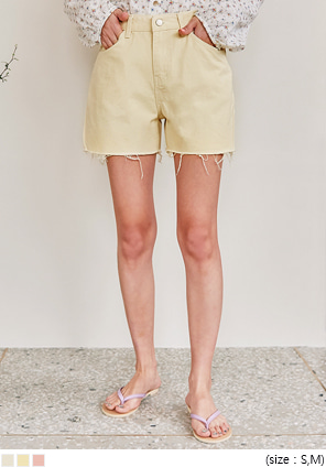 [BOTTOM] WESTIN CUTTING COTTON SHORTS
