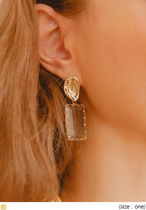 [JEWELRY] EACOA CRYSTAL DROP EARRING