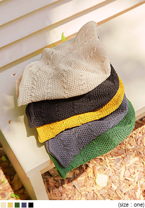 [ACC] 5 COLOR TREVI KNIT BUCKET HAT