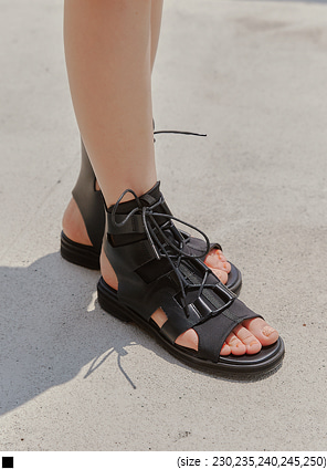 [SHOES] ATOV GLADIATOR LACE-UP SANDAL