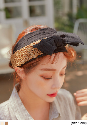 [ACC] BAMBI MIX RIBBON PAPER HAIR TURBAN