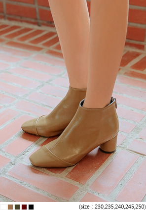 [SHOES] 5 COLOR DAVIS ANKLE BOOTS