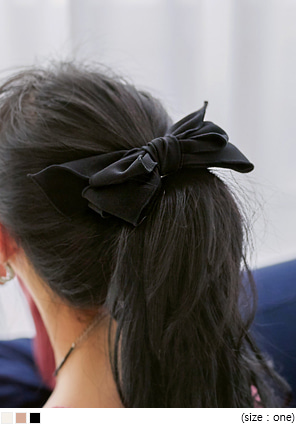 [ACC] ELLO LINE RIBBON HAIR PIN