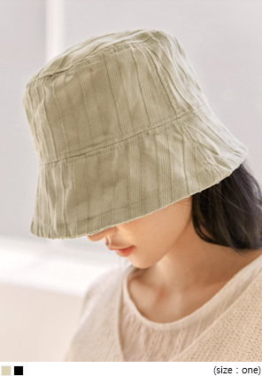 [ACC] VINTAGE STRIPE BUCKET HAT