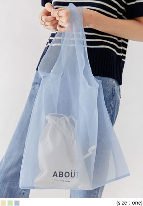 [BAG] REOL POUCH SET MESH BAG