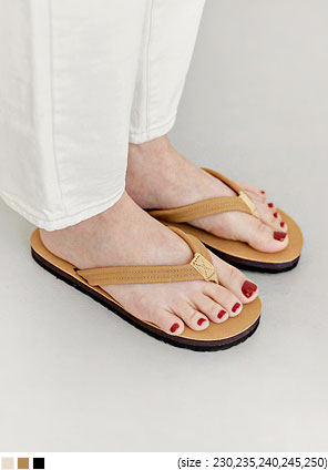 [SHOES] BENIN BASIC FLIP FLOP SLIPPER