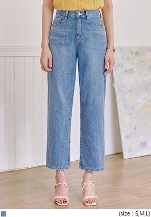 [BOTTOM] LUIZEN WIDE DENIM PANTS