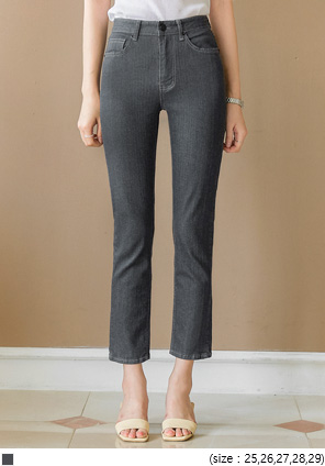 [BOTTOM] KARUN SPAN STRAIGHT DENIM PANTS