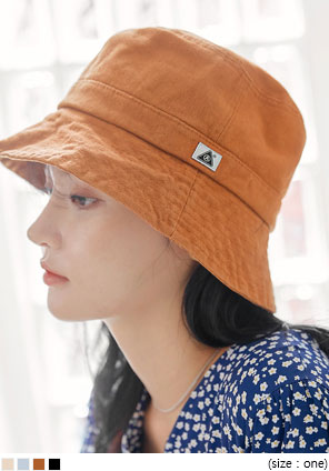 [ACC] DENNY LABEL BUCKET HAT