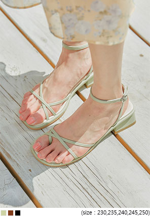 [SHOES] JOHN UNBAL STRAP SANDAL