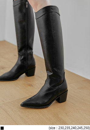 [SHOES] MAVE WESTERN LONG BOOTS