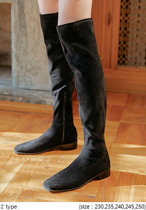 [SHOES] FOTANA THIGH HIGH BOOTS - 2 TYPE