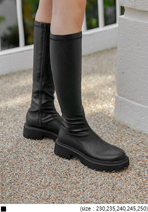 [SHOES] PITO CHUNKY SLIM LONG BOOTS