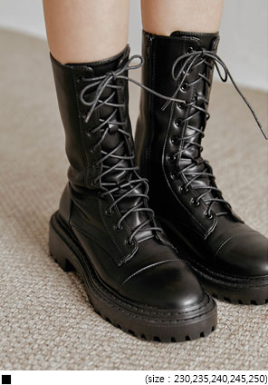 [SHOES] EVA LACE-UP HIGH WALKER
