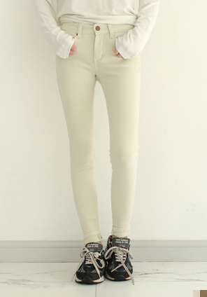 [BOTTOM] WINTER COTTON SKINNY