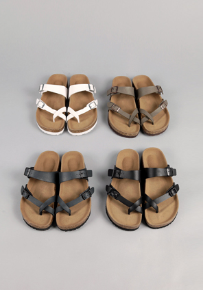 [SHOES] CASUAL BUCKLE SLIPPER