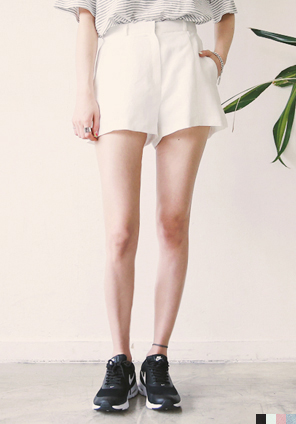 [BOTTOM] SET LINEN SHORTS