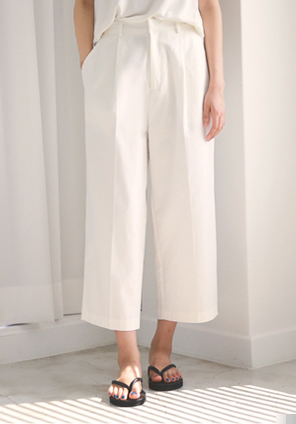 [BOTTOM] ACNE COTTON PANTS
