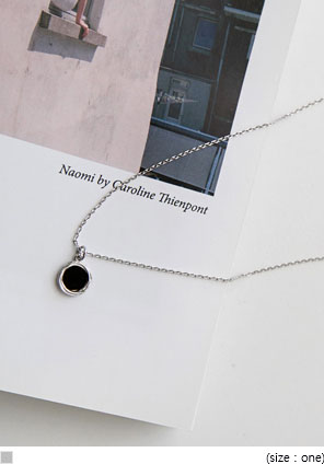 [JEWELRY] SIMPLE ONE NECKLACE