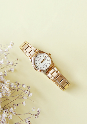 [ACC] CASIO GOLD METAL WATCH