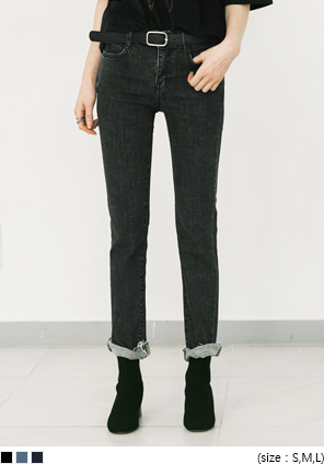 [BOTTOM] SAINT STRAIGHT CUTTING PANTS