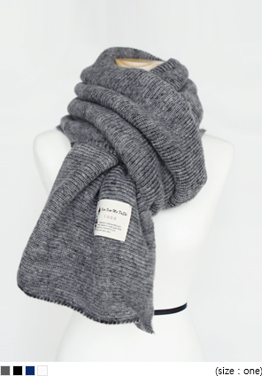 [ACC] SOFT KNIT LONG MUFFLER
